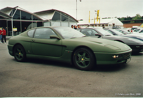 Green Ferraris