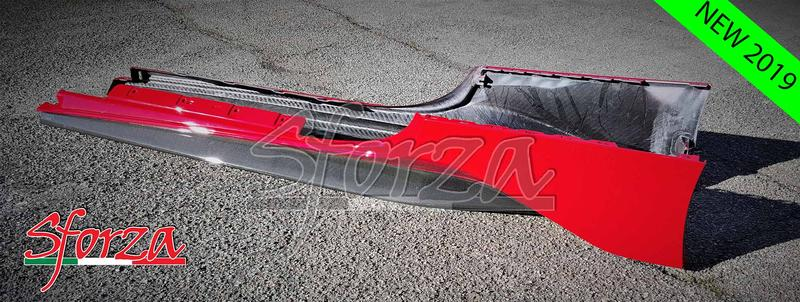Name:  Ferrari 488 Pista Carbon fiber rocker panels red prova.jpg
