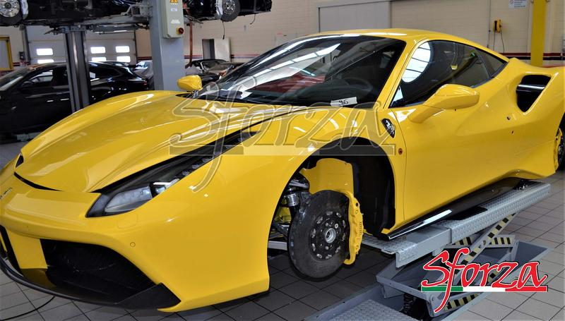 Name:  Ferrari 488 GTB carbon fiber rocker panels 488 pista yellow modena.jpg